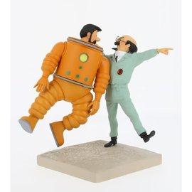 moulinsart Mond Collection: Haddock & Bienlein auf dem Mond