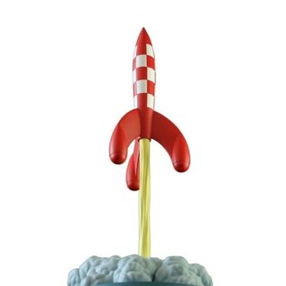 moulinsart Tintin Icons - The rocket of Calculus during lift-off