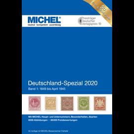 Michel Deutschland-Spezial 2020 Band 1: 1849 bis April 1945