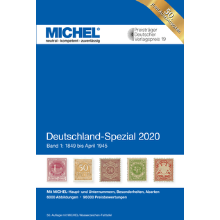 Michel Deutschland-Spezial 2020 Band 1: 1849 bis April 1945