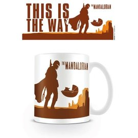Pyramid Star Wars The Mandalorian mug - This is the Way