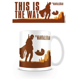 Pyramid Star Wars The Mandalorian Becher - This is the Way