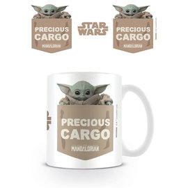 Pyramid Star Wars The Mandalorian mug - Precious Cargo