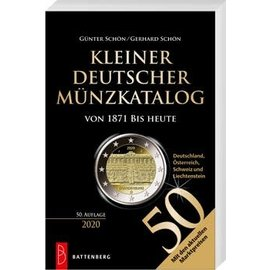 Battenberg Kleiner Deutscher Münzkatalog von 1871 bis heute 2020