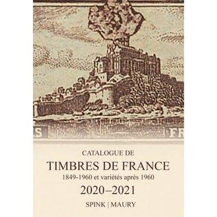Spink Maury Catalogue de Timbres de France 2020/21