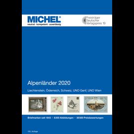 Michel Europa-Katalog Band 1 Alpenländer 2020