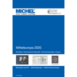 Michel Europa-Katalog Band 2 Mitteleuropa 2020