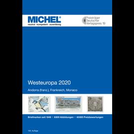 Michel Europa-Katalog Band 3 Westeuropa 2020