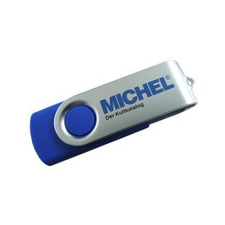 Michel USB stick with yearly set Rundschau
