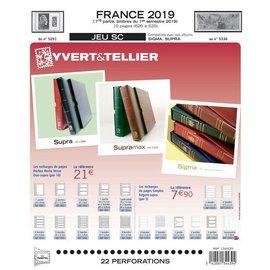 Yvert & Tellier Jeu SC France 2019 1er semestre