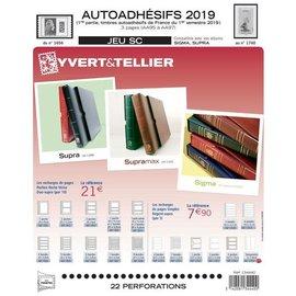 Yvert & Tellier Jeu SC France Autoadhesifs 2019 1er semestre