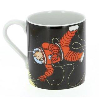 moulinsart Tintin Mug - Tintin & Haddock on the moon