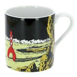 moulinsart Tintin Mug - Rocket on the moon