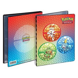 Ultra-Pro Pokémon album 4-pocket Galar Starters