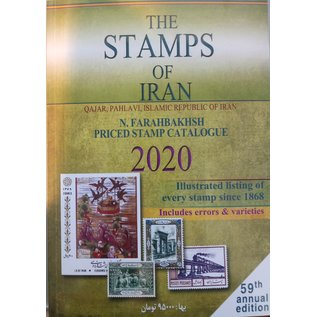 Farabakhsh The Stamps of Iran 2020 Qajar, Pahlavi, Islamic Republic of Iran