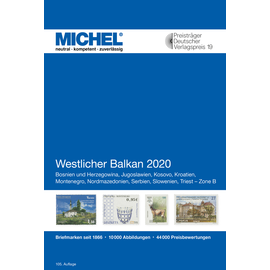 Michel Europa-Katalog Band 6 Westlicher Balkan 2020
