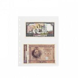 Leuchtturm plastic pockets Optima Easy 2 C - set of 50