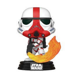 Funko Pop! Star Wars The Mandalorian 350 - Incinerator Stormtrooper