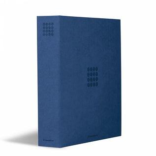 Leuchtturm ringband Optima Pur blauw