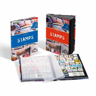 Leuchtturm stockbook for stamps Stamps S16