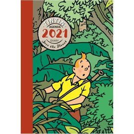 moulinsart Tintin pocket diary 2021