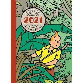 moulinsart Tintin Diary 2021