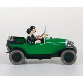 moulinsart Tintin car - The Citroen 5 HP of Thomson & Thompson from Land of Black Gold