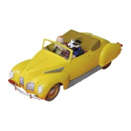 moulinsart Kuifje auto - De Lincoln Zephyr uit De 7 Kristallen Bollen
