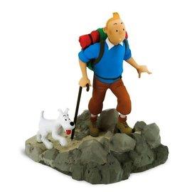 moulinsart Tintin statue - Tintin as hiker