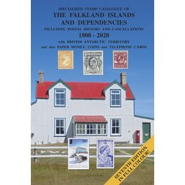 Heijtz Specialised Stamp Catalogue of The Falkland Islands and Dependencies 1800-2020