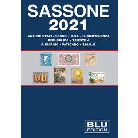 Sassone Blu 2021 Antichi stati · Regno · R.S.I. · Luogotenenza · Repubblica · Trieste · S. Marino · Vaticano · S.M.O.M.