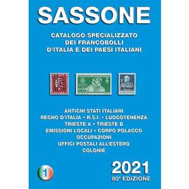 Sassone Catalogo specializzato dei francobolli d'Italia · Primo volume