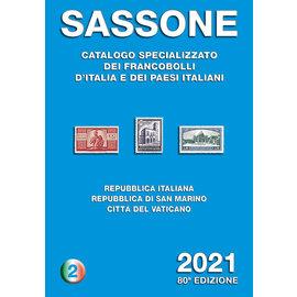 Sassone Catalogo specializzato dei francobolli d'Italia e dei paesi italiani · Secondo volume