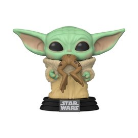 Funko Pop! Star Wars The Mandalorian 379 - The Child with Frog