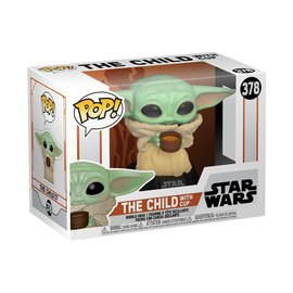 Funko Pop! Star Wars The Mandalorian 378 - The Child with Cup