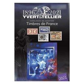 Yvert & Tellier Timbres de France 2021