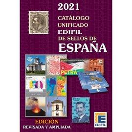 Edifil Catálogo unificado de sellos de España 2021