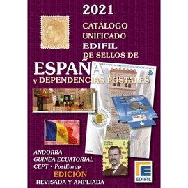 Edifil Catálogo unificado de sellos de España y Dependencias Postales 2021