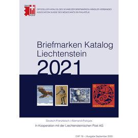 SBK Briefmarken Katalog Liechtenstein 2021