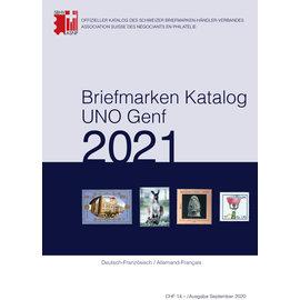 SBK Briefmarkenkatalog UNO Genf 2021