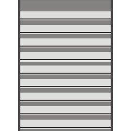 Mandor Insteekkaarten A4 291x210 mm zwart - 10 stuks