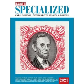 Scott 2021 Specialized Catalogue of United States Stamps & Covers