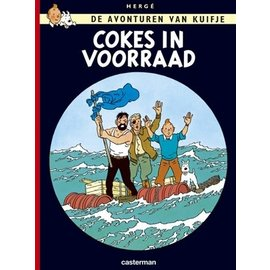 Casterman Kuifje 19. Cokes in Voorraad