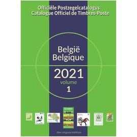 OCB - COB Officiële Postzegelcatalogus België 2021