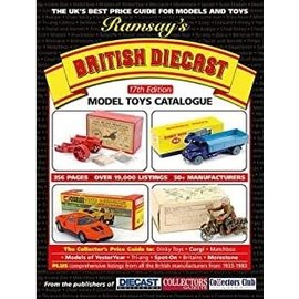 Warners Ramsay's British Diecast Model Toys Catalogue