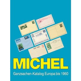 Michel Ganzsachen-Katalog Europa bis 1960