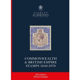 Gibbons Commonwealth & British Empire Stamps 1840-1970 2021 edition