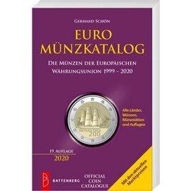 Battenberg Euro Münzkatalog - Die Münzen der Europäischen Währungsunion 1999-2019
