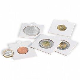 Leuchtturm Matrix coin holders self adhesive 25 mm - set of 100