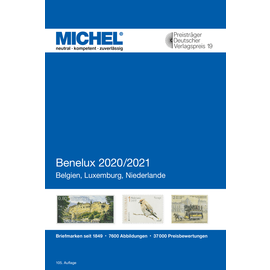 Michel Europa-Katalog Band 12 Benelux 2020/2021